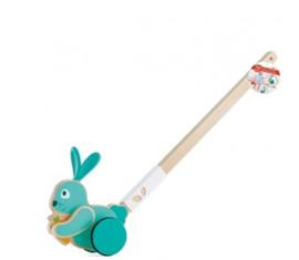 Hape - Bunny Push Pal