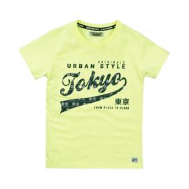 DJ Dutchjeans - T-Shirt Neon Yellow