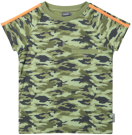 Vinrose - T-Shirt Oil Green