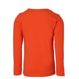 Quapi - Shirt Fedde Orange Red