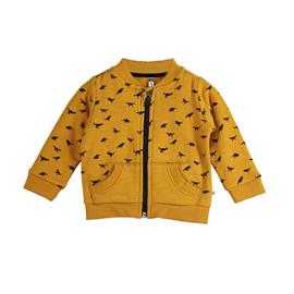 Ducky Beau - Vest Dino Pattern Yellow
