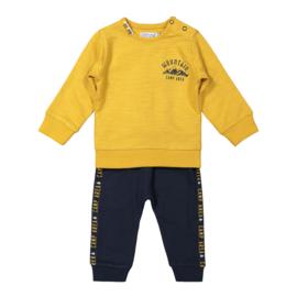 Dirkje - Setje Navy + Ochre Yellow