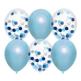 Versieringen - Balloonmix Sky Blue