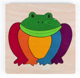 Hape - Rainbow Frog Puzzle