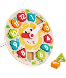 Hape - Chunky Clock Puzzle