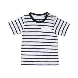 Ducky Beau - T-Shirt Navy Striper