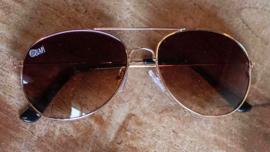 Quapi - Zonnebril Brown Gold