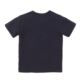 Dirkje - T-Shirt Navy ''HEY''