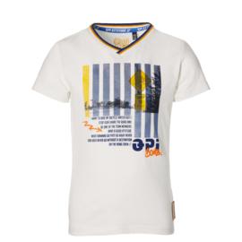 Quapi - T-Shirt Faben White
