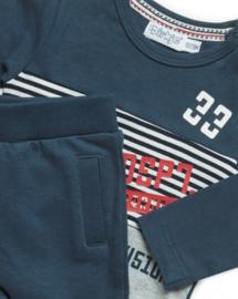 Dirkje - Setje Grey + Red + Navy