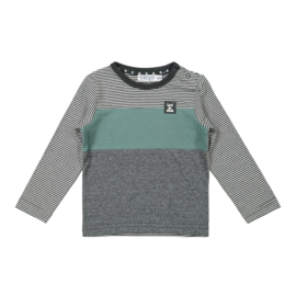 Dirkje - Shirt Anthracite + Sage