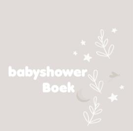 Boeken - Babyshowerboek