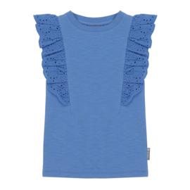 Vinrose - Short Sleeve Palace Blue