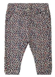 Ducky Beau - Broek Leopard Pattern Red Clay
