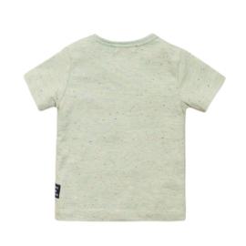 Dirkje - T-Shirt Light Sage Melange