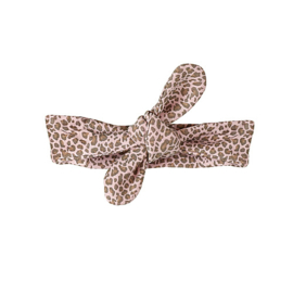 Ducky Beau - Haarband Leopard Pattern