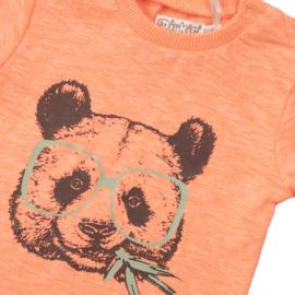 Dirkje - T-Shirt Neon Coral