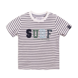 Dirkje - T-Shirt Navy + Stripe