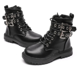 Rock And Joy Boots Black
