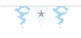Versieringen - Vlaggenlijn babyboy