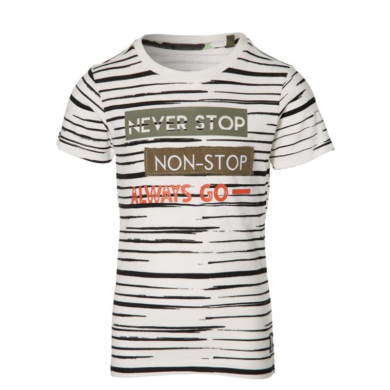 Quapi - T-Shirt Faber Off White