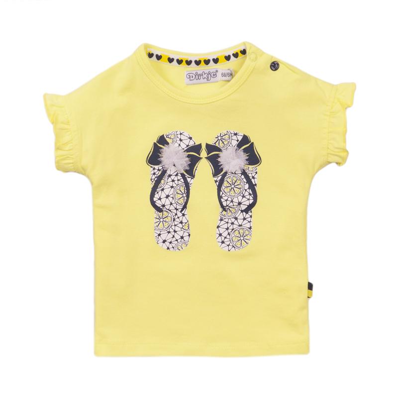 Dirkje - T-Shirt Yellow