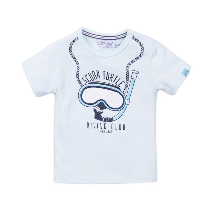 Dirkje - T-Shirt Light Aqua