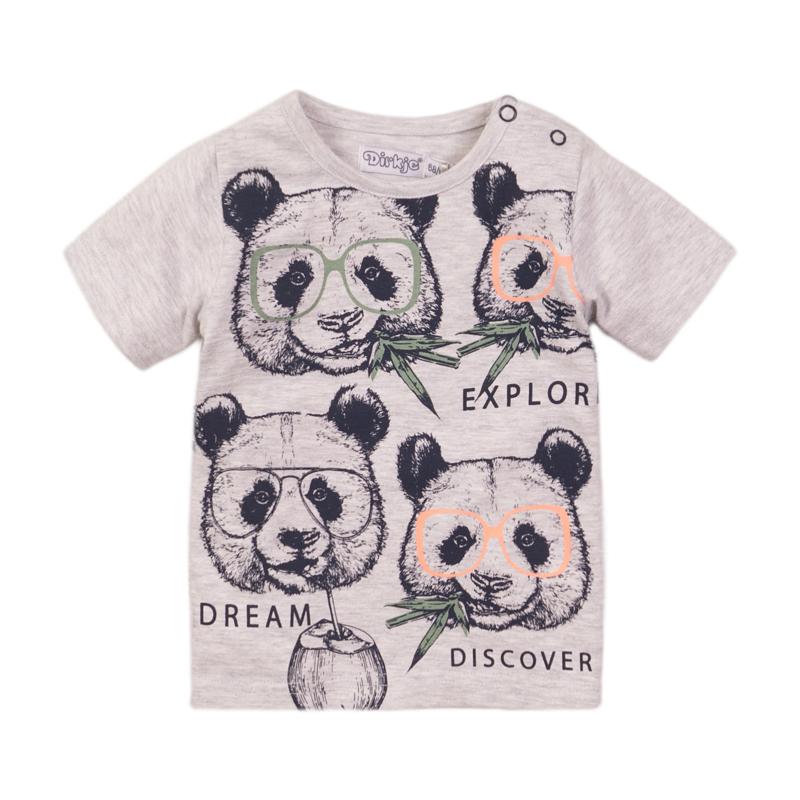 Dirkje - T-Shirt Grey Melange