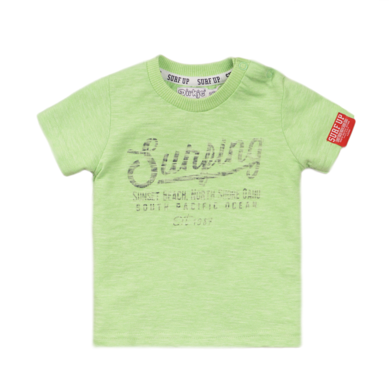 Dirkje - T-Shirt Bright Green