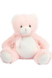 Knuffelbeer Roze met geborduurde naam