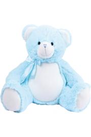 Knuffelbeer Blauw met geborduurde naam