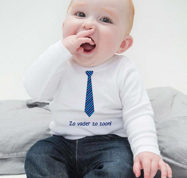 Kindershirt met stropdas