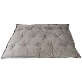 HOOMstyle Mimi palletkussen fluweel - bruin grijs - 120x80cm ZIT