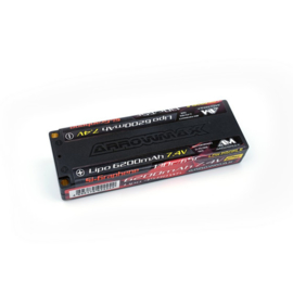 AM Lipo 6200mAh 2S TC Low Profile - 7.4V 65C Continuos 130C Burst (Si-Graphene) (AM-700707)