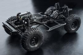 MST CFX-W 4WD Crawler KIT front motor wheel base 300mm (MST532158)