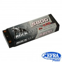 Rockamp LiPo Battery HV 5800mAh 2s Competition LCG 5mm Bullet (   RK5800A2S)