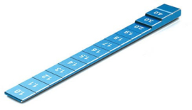 SkyRC Ride Height Gauge 1mm Blue (SK600069-22)