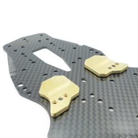 """WEIGHT SHIFT"""" ADJUSTABLE LCG CHASSIS WEIGHTS FOR AWESOMATIX (FRONT) ( RCM-AMXAW-F)"""