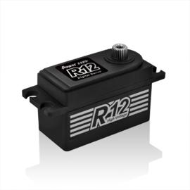 Power HD Black Colour R12 Servo