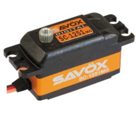 Savöx servo SC-1251MG Low Profile ( #SC-1251MG)