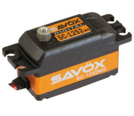 Savöx servo SC-1252MG Low Profile ( #SC-1252MG)