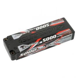 Sunpadow LiPo Akku 5000mAh 60C/30C 2s Hardcase 4mm plug(   SU650002)