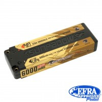Sunpadow LiPo Akku 6000mAh 120C/60C 2s Competition 4mm plug(   SU5660041)