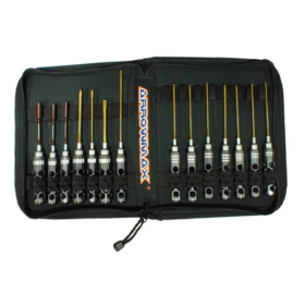AM Honeycomb Toolset (14Pcs) With Tools bag (AM-199407)