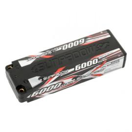 Sunpadow LiPo Akku 6000mAh 60C/30C 2s Hardcase 4mm plug (   SU660003)