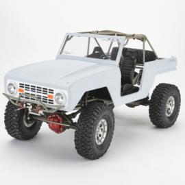 TFL Scale Chassis 1/10 w. Fiberbody & Steelframe Wheelbase 305mm (TC1508)