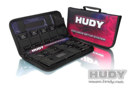 HUDY 1/10 Touring Car Complete Set of Setup Tools & Carrying Bag