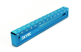 SkyRC Ride Height Gauge 4mm Blue (SK600069-16)
