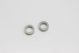 BALL BEARING 10X15X4MM. (2) TEFLON SHIELD (BRG014TS)