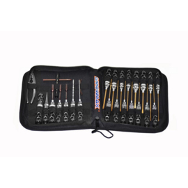 AM Honeycomb Toolset (25Pcs) With Tools Bag (AM-199410)